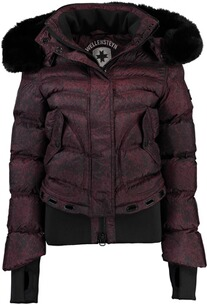 WELLENSTEYN Winter Jacke Queens  Blackred