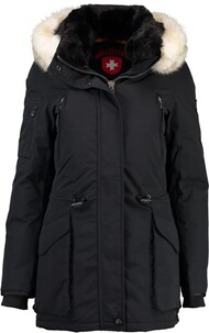 WELLENSTEYN Winter Jacke Vulcano Lady midnightblack