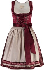 KRÜGER COLLECTION Dirndl Darleen rot
