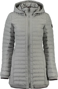 Wellensteyn Jacke Damen: WELLENSTEYN Helium Medium with Hood ligthgrey