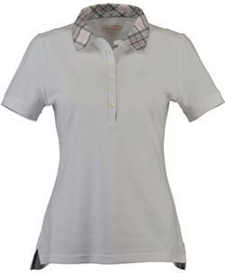 BARBOUR Malvern Top White/Platinum