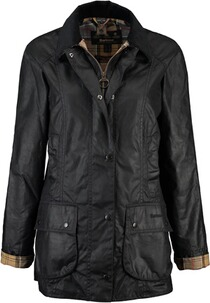 BARBOUR Beadnell Wachsjacke navy