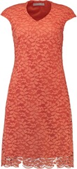 BINACA Spitzenkleid orange