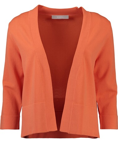 BIANCA Strick-Jacke orange