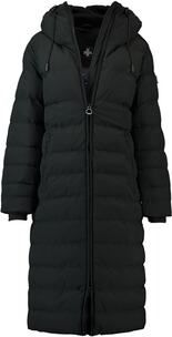 Wellensteyn Jacke Damen: WELLENSTEYN Cordoba Long Winterjacke midnightblack