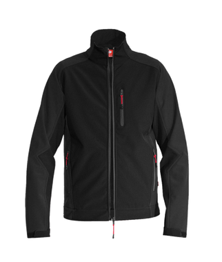a10048de Softshell Jacket dryplexx® softlight black | engelbert strauss