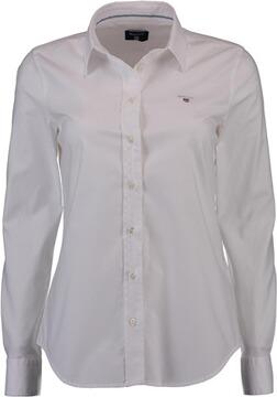 GANT Stretch Oxford Bluse weiss, ab Grösse 36 Damen 8f1aa41a42