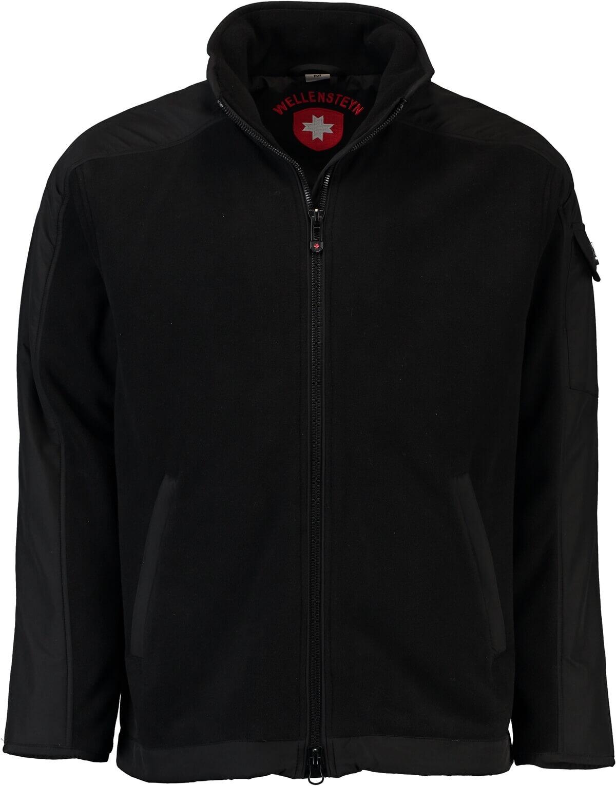 Bestpreis preiswert kaufen suche nach echtem WELLENSTEYN Jet-Fleece-Jacke schwarz