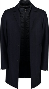 Damen Wollmischung Jacke Blazer Damen Mantel Größe 8 10 12 14 16 black NEU