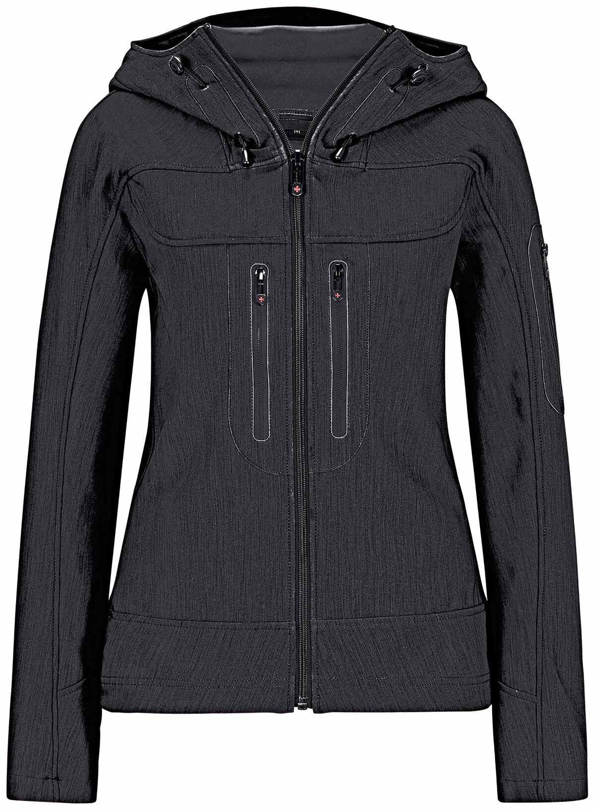 am besten wählen so billig Beste WELLENSTEYN Dynamica Softshell-Jacke schwarz