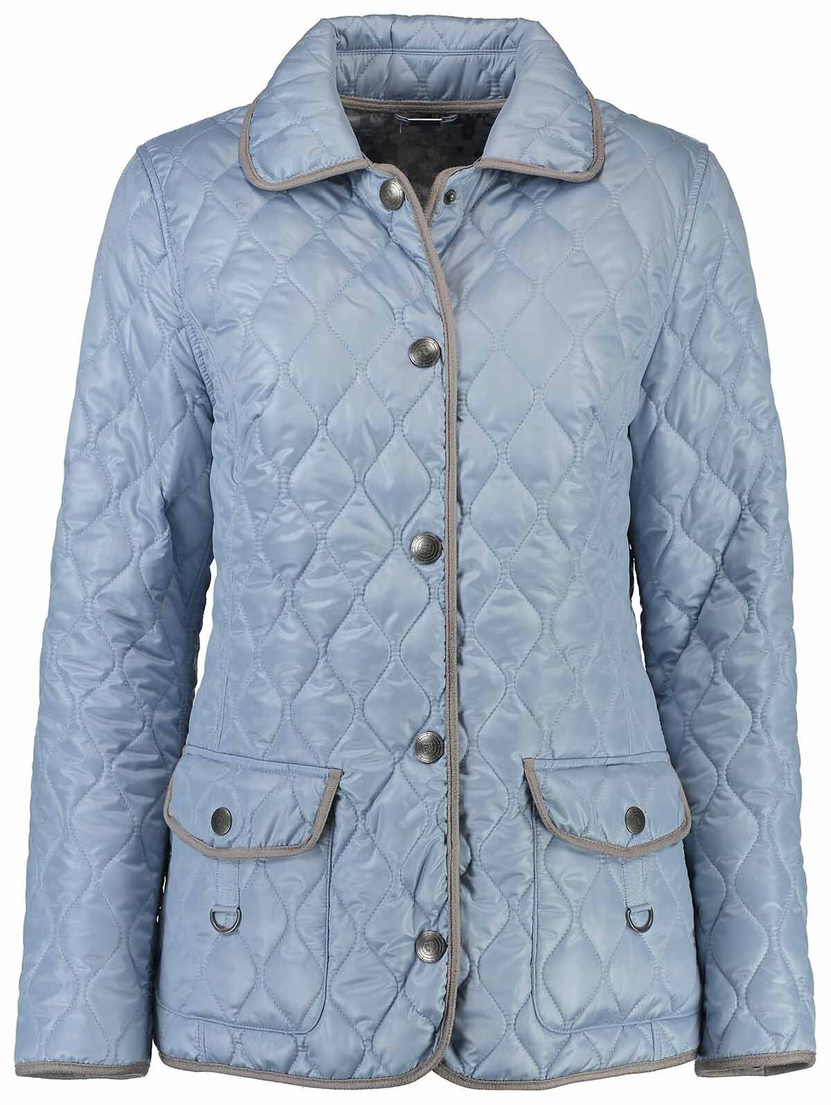 new product 6197c 64005 BARBARA LEBEK Wende-Steppjacke hellblau