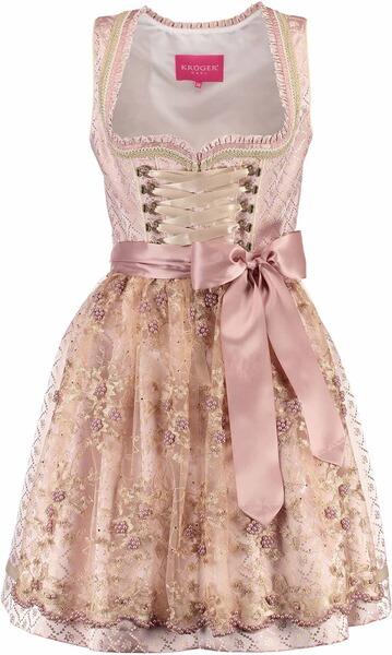 kr ger dirndl kurzes dirndl rosalia rosa online kaufen bei. Black Bedroom Furniture Sets. Home Design Ideas
