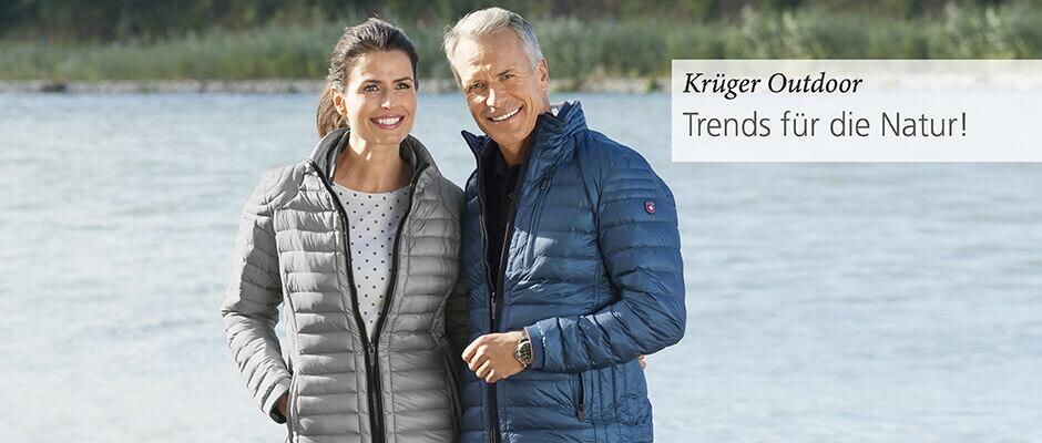 Krüger Outdoor. Trends für die Natur!