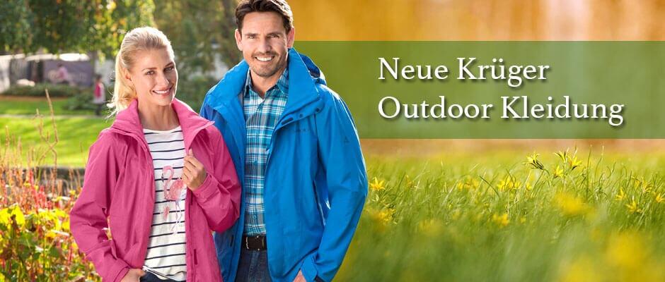 Neue Krüger Outdoor Kleidung