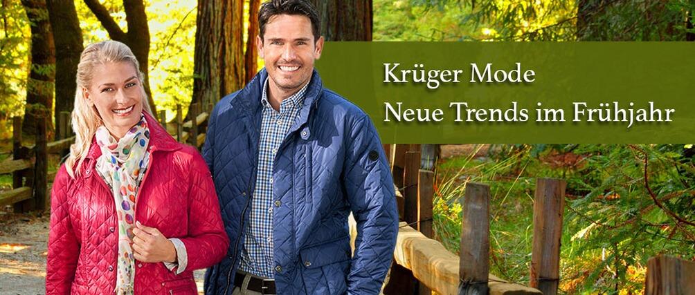 Krüger Mode - neue Trends im Frühjahr - Kollektion jetzt entdecken