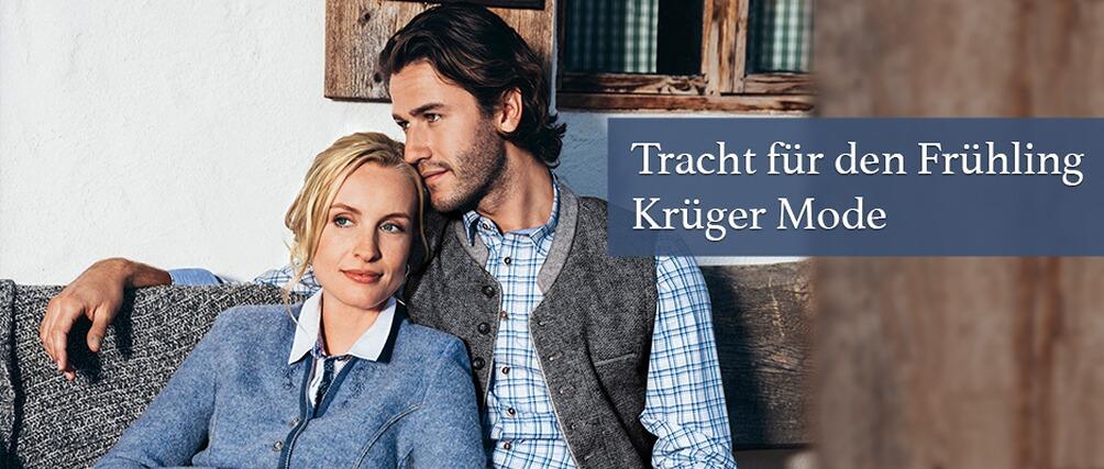 Tracht für den Frühling - entdecken Sie die neue Kollektion bei Krüger