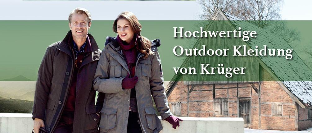 Krüger Outdoor - hochwertige Outdoor-Kleidung für den Winter