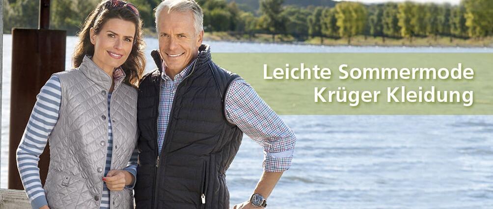 Krüger Mode - leichte Sommermode - Kollektion jetzt entdecken