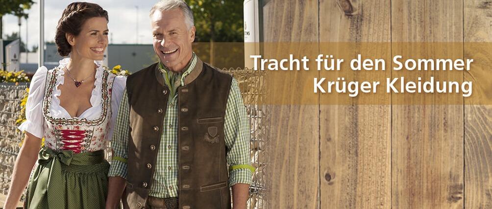 Tracht für den Sommer - entdecken Sie die neue Kollektion bei Krüger